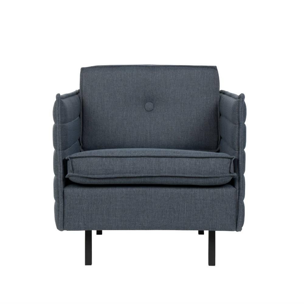 Moderne Sessel Blau Blaue Moderne Sessel Isoliert Auf Weiss