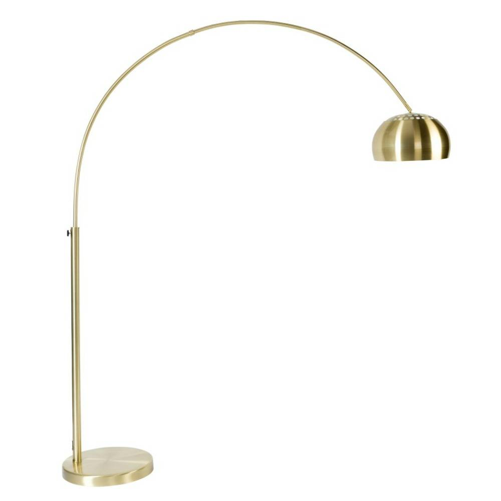 Zuiver Floor Lamp Metal Bow Brass Gold 190 205cm - Stehlampe Gold