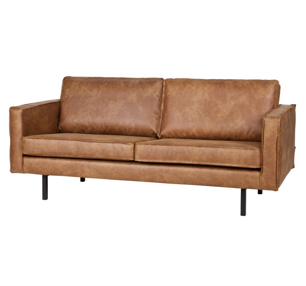 Sofa Schnelle Lieferung Sofa Rodeo 2.5 Seat, Cognac Leather 190x86x85cm