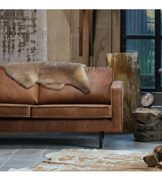 Ledercouch Cognac Sofa Rodeo 2.5 Seat, Cognac Leather 190x86x85cm