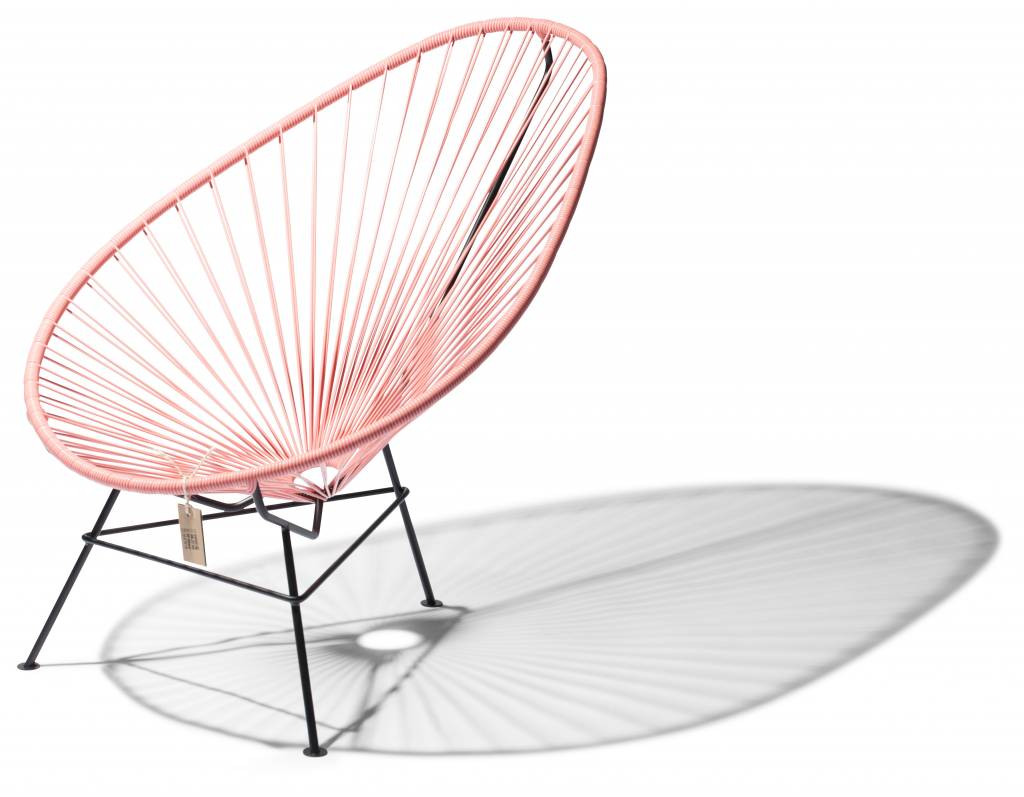 Mexico Chair Schwarz Acapulco Chair Mexico Salmrosa Acapulco Stühle