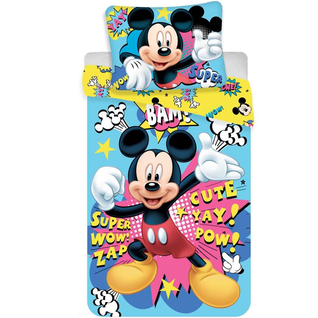 Mickey Mouse Teppich Mickey Mouse Duvet Mikrofaser 140x200 43 70x90 Simbashop Nl