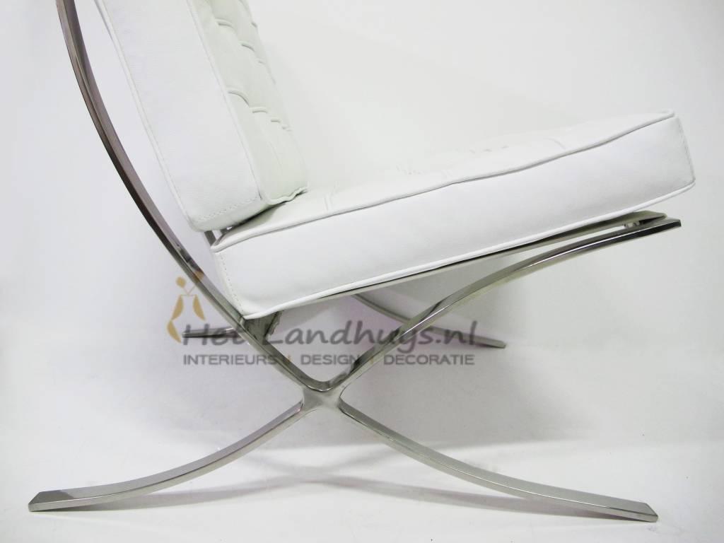 Design Replica Meubels : Replica design meubelen barcelona chair wit premium replica