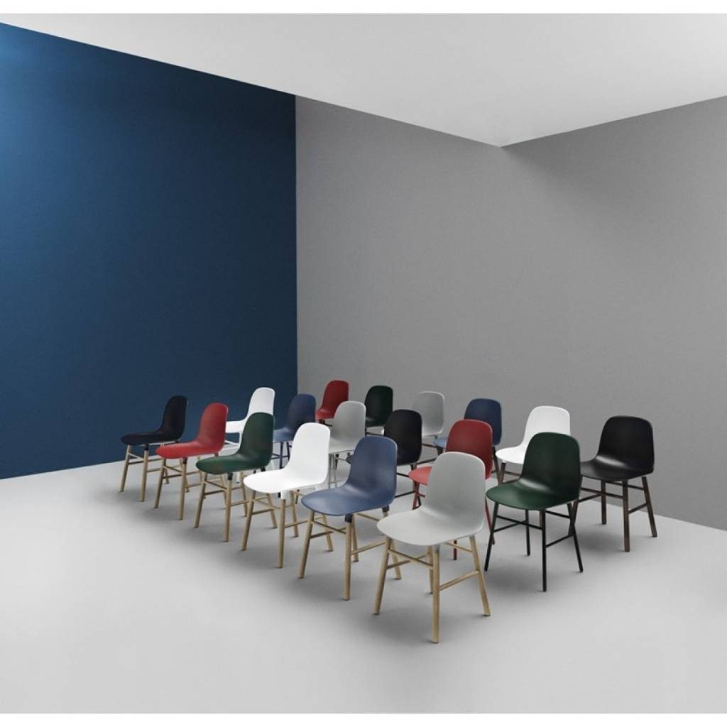 Staalblauw Woonkamer Normann Cph Form Chair Steel Blue Living And Co