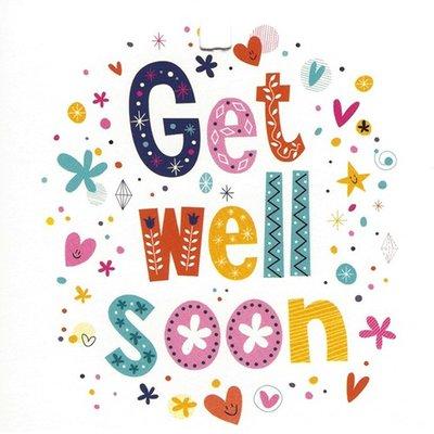 Greeting Card \u0027Get well soon\u0027 - Leonidas Online Shop Gistel - Fresh - get well soon card