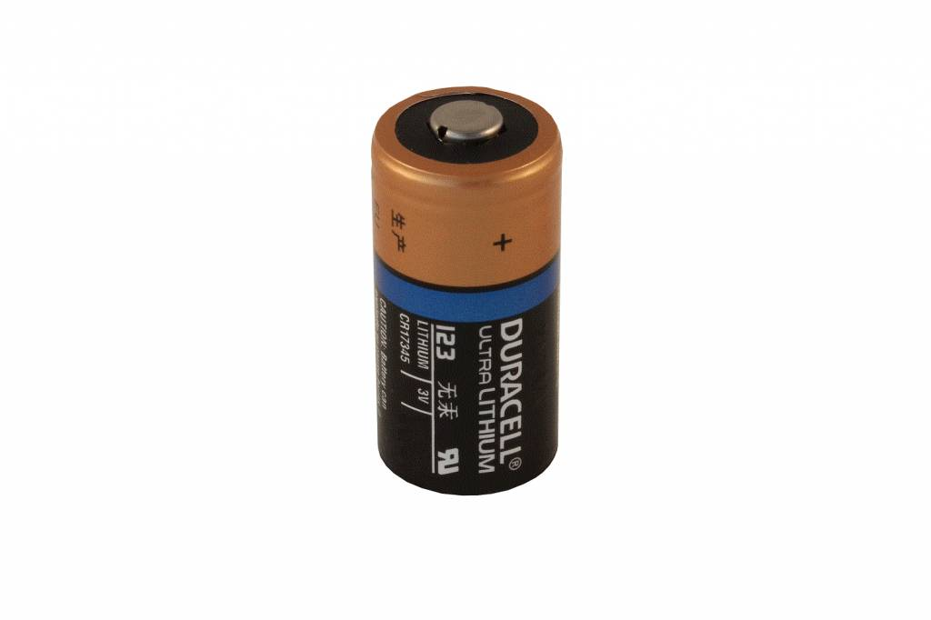 9v Batterij Duracell Lithium Photo Foto Batterijen 123 Dl123a Cr123a