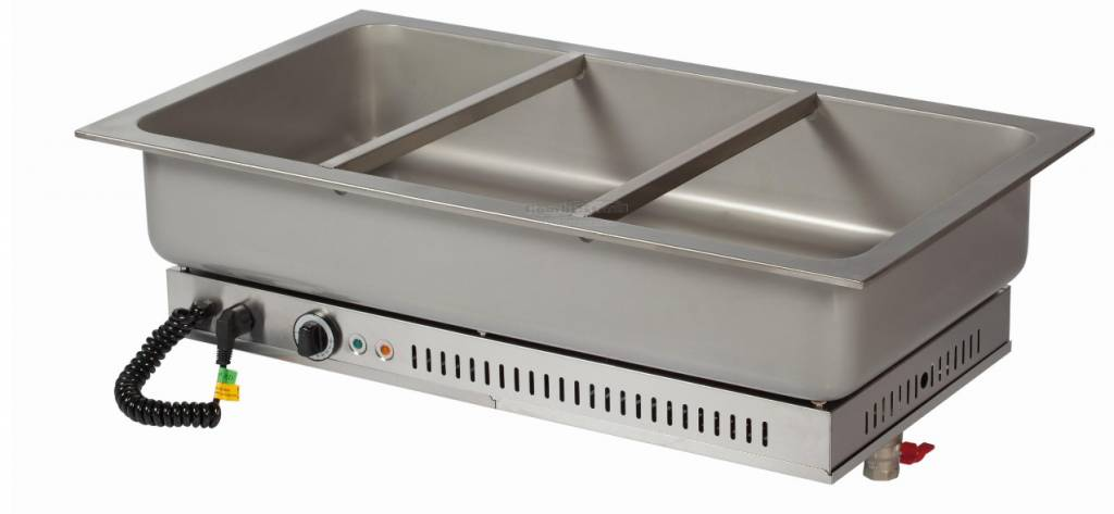 Combisteel Built In Bain Marie Unit Stainless Steel 3 1
