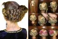 hair buns braided hair piece custom color braids all hair ...
