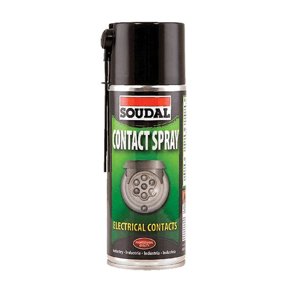 Metaalverf Spray Soudal Contact Spray 400ml - Isolatieactie.be