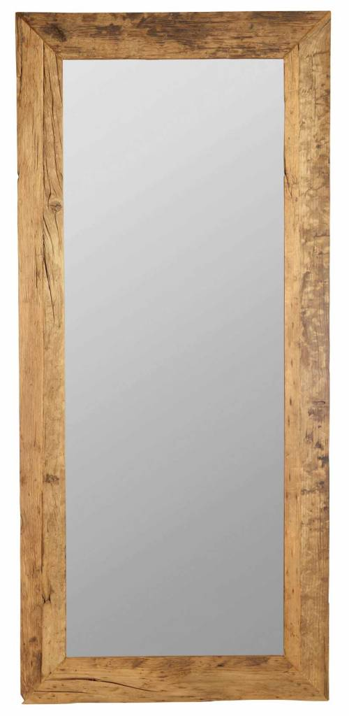 Promotion Salon De Jardin House Doctor Miroir En Bois - 95x210cm - House Doctor