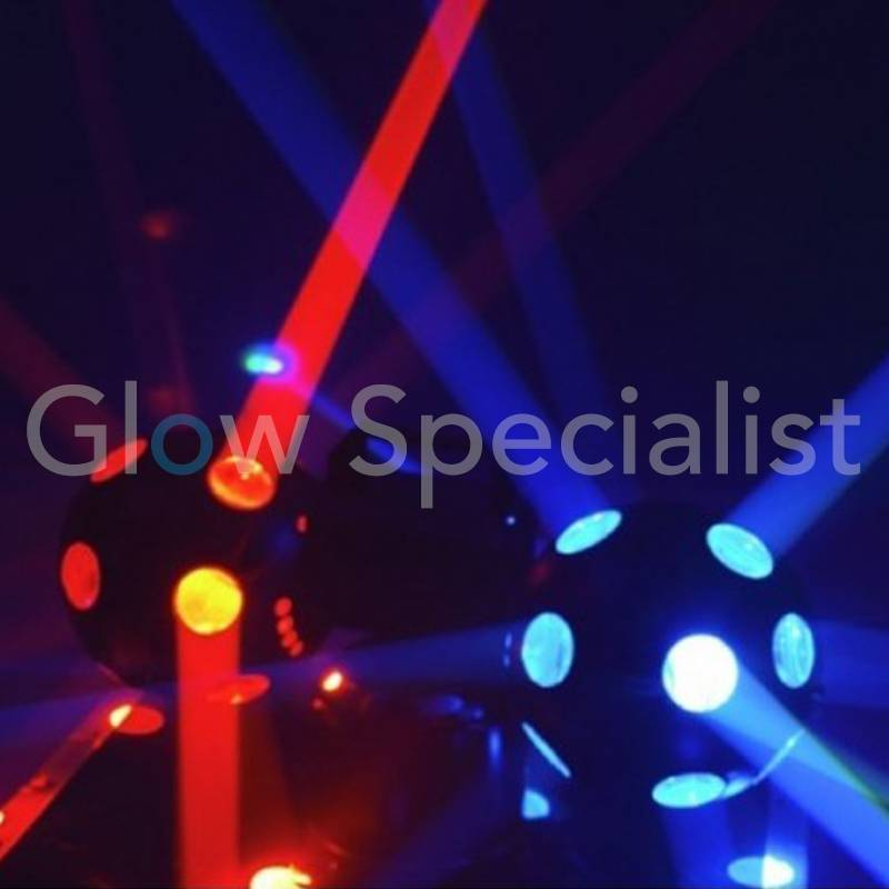 Lighting Effects Specialist Led Double Fireball Lighting Effect - Glow Specialist