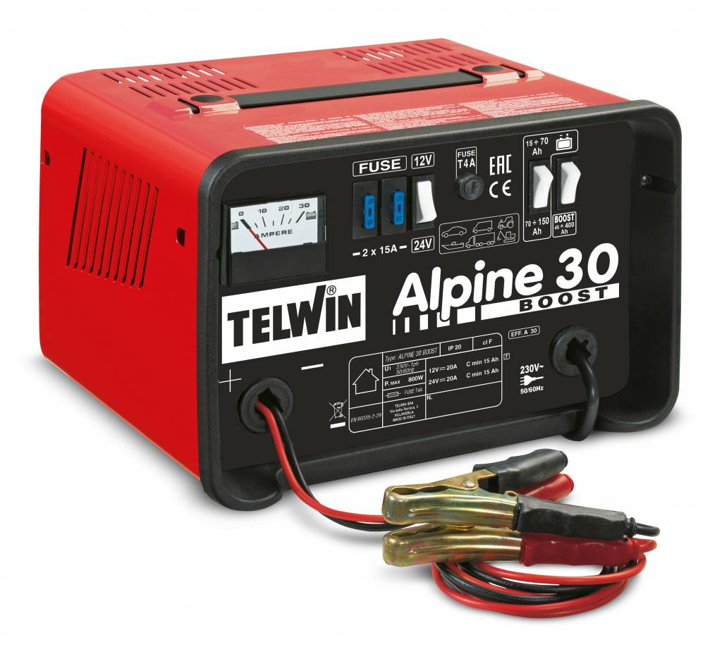 Auto Acculader Gamma Telwin Alpine 30 Boost - Acculaders.nl