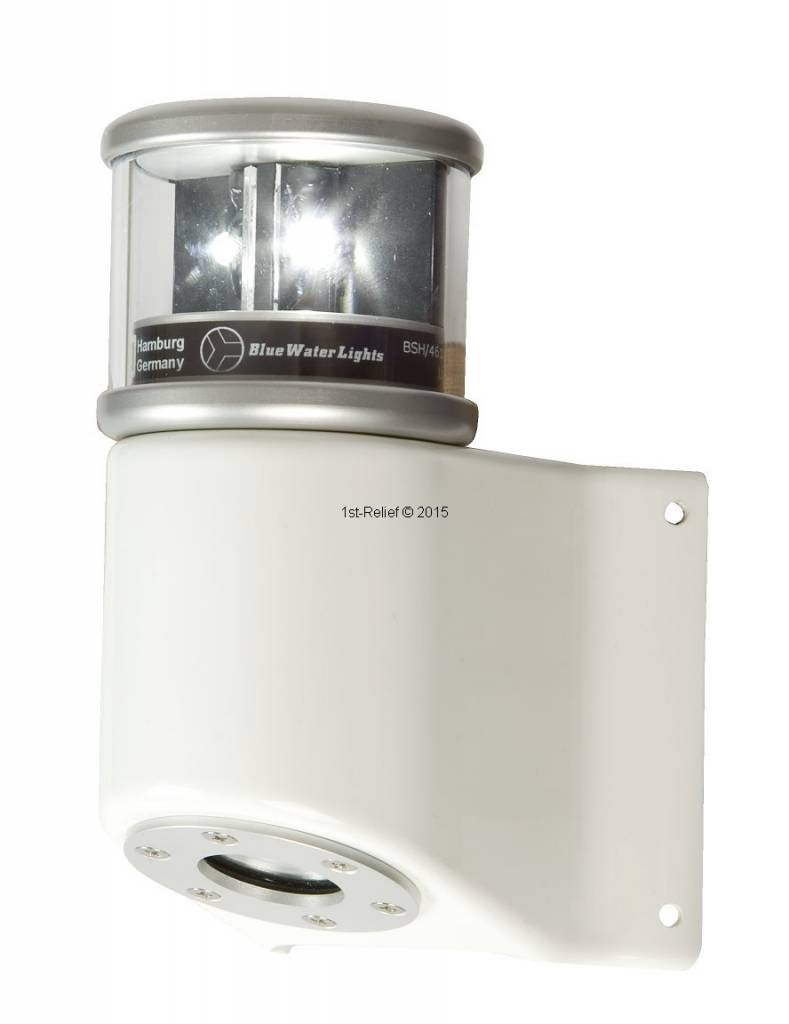 Navigatie Verlichting Led Navigatieverlichting Lantern 580 Masthead Light White Incl Mastbracket All White