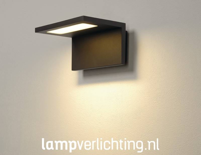 Wand Lampjes Led Wand Lamp Buiten Ip44 - Antraciet Of Wit - Duurzaam