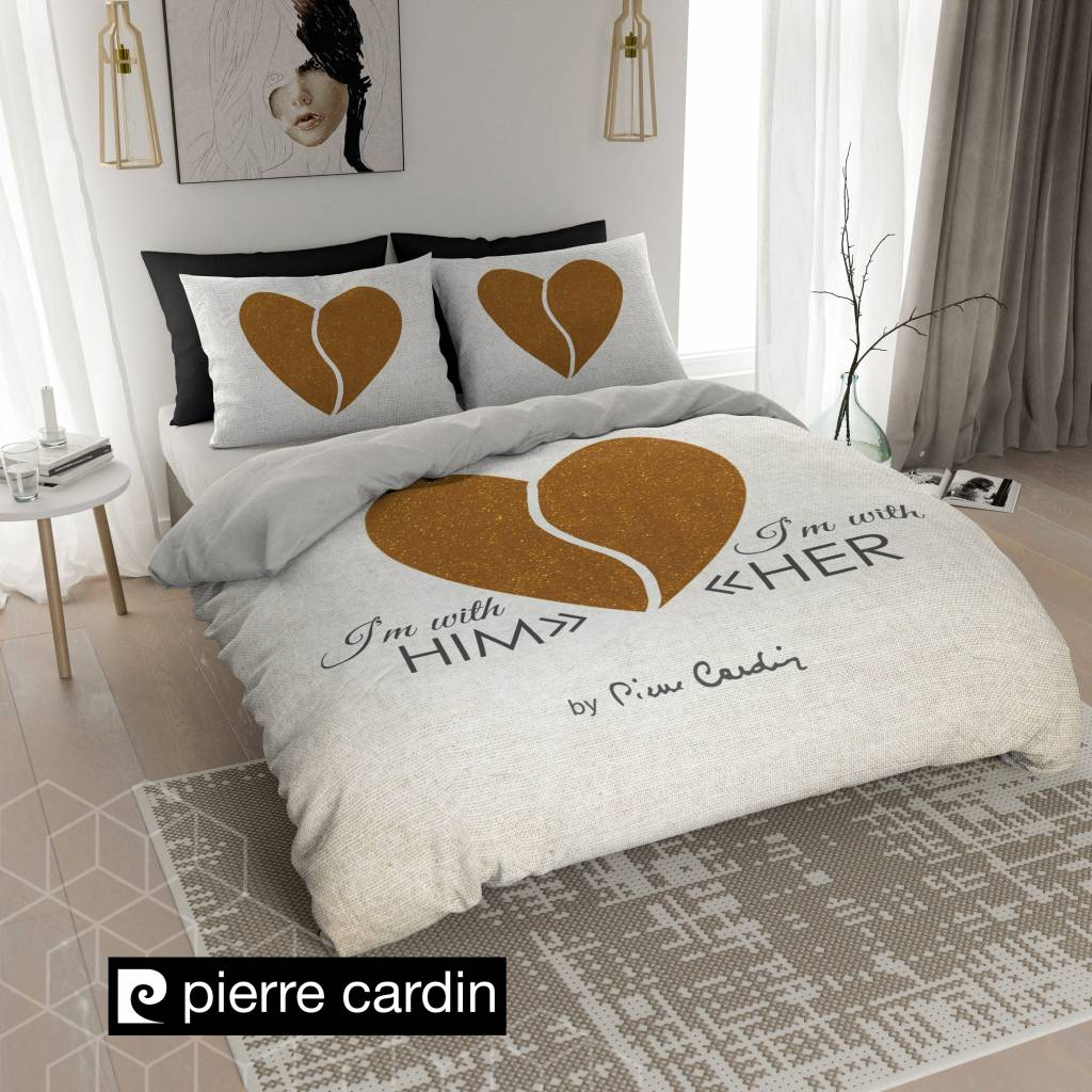 Pierre Cardin Bettwäsche Him Her Ecru Gold De Pl Nightlifeliving Für Verliebte
