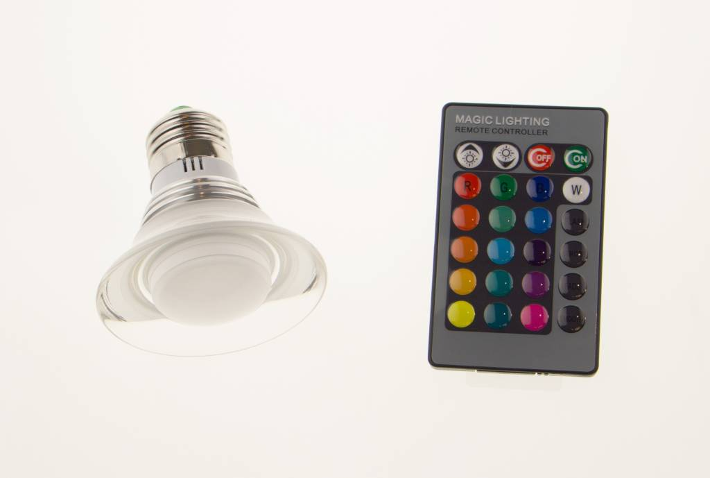 Led Afstandsbediening Led Spot Met Afstandsbediening I Cheaptech - Home
