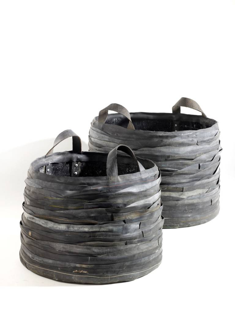 Rubber Mand Rubber Baskets 2 Sizes