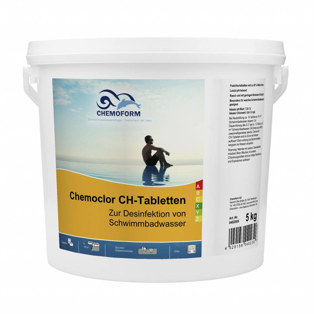 Multitabs Pool Auflösen Chemoform Chemoclor Ch Tabletten 20 G 5kg Gebinde Pool Living