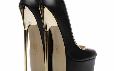 Extreme Metal High Heels Shoebidoo Shoes Giaro High Heels