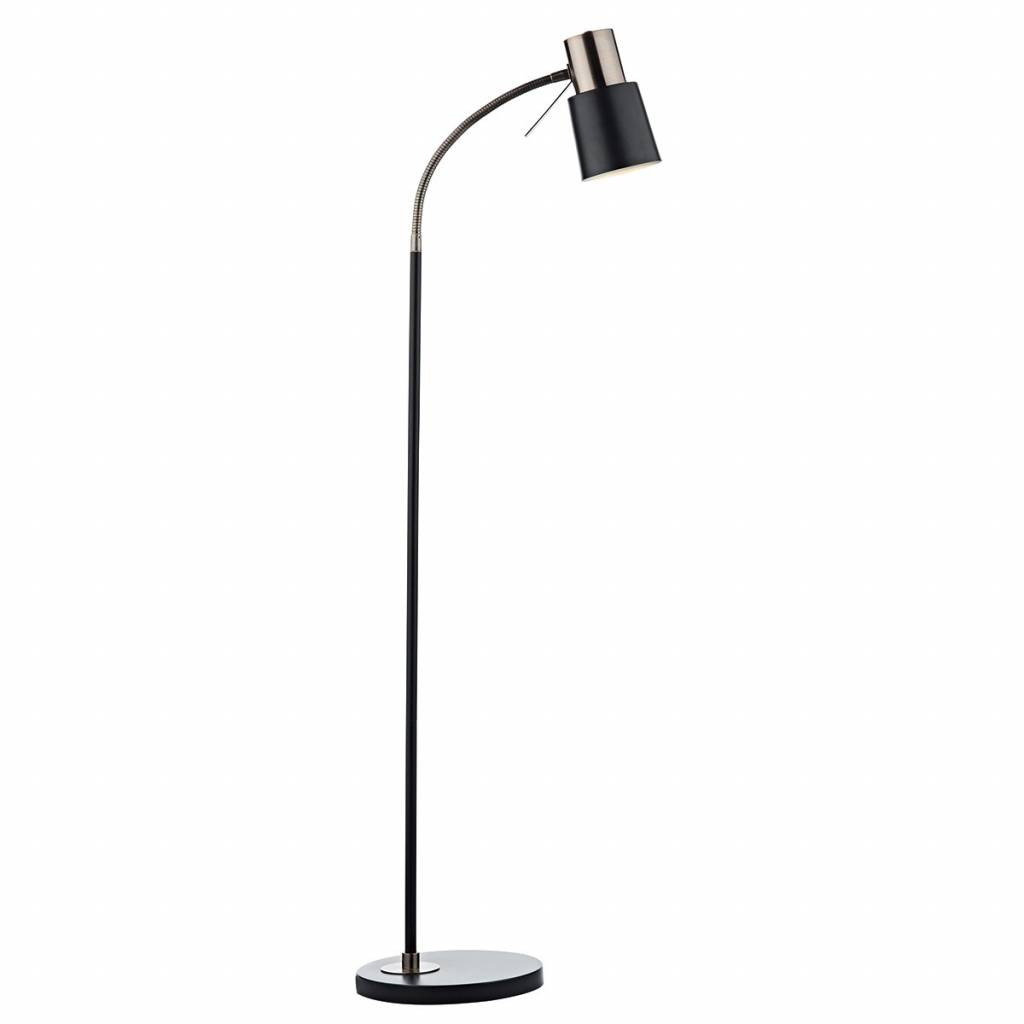 Stehlampe Schwarz Kupfer Copper/black Floor Lamp - Lightbox