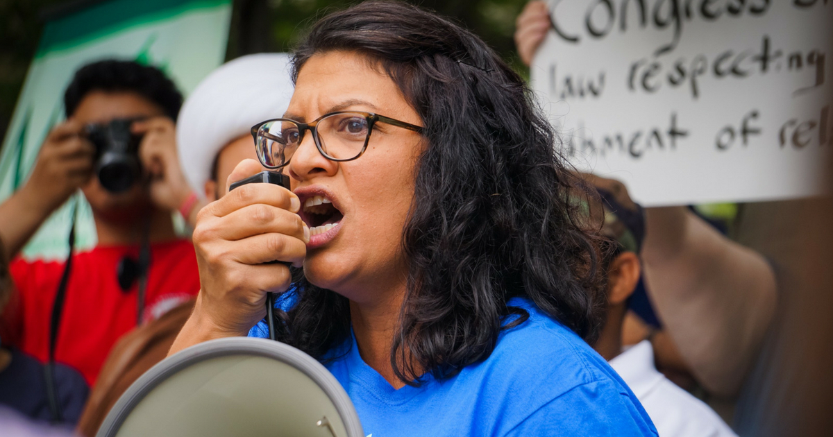 Michigan Democrat Rashida Tlaib Says She Will 'Absolutely' Vote Against Aid to Israel