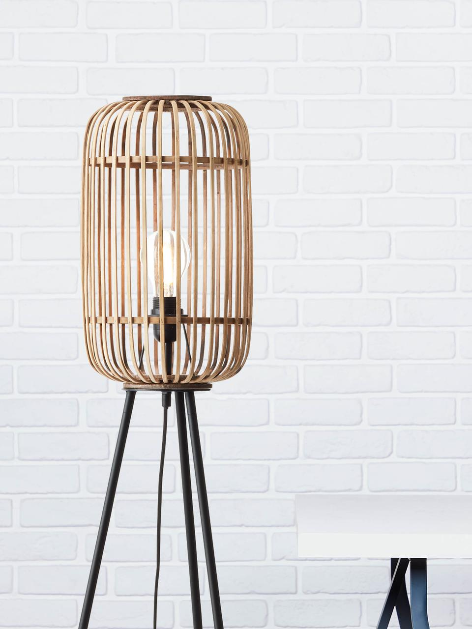 Boho Stehlampe Woodrow Mit Rattanschirm Westwingnow