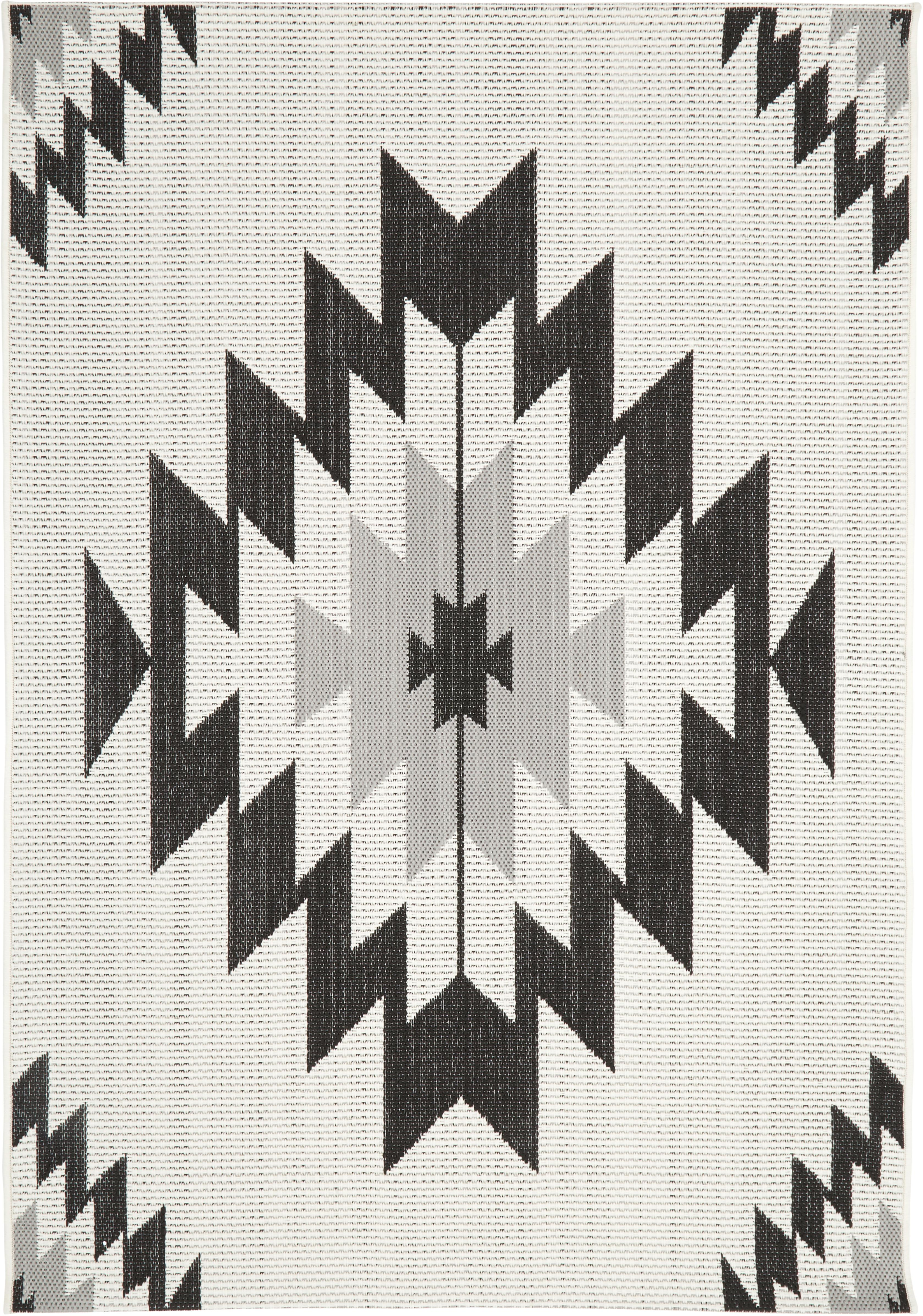 In Outdoor Teppich Ikat Mit Ethno Muster Westwingnow