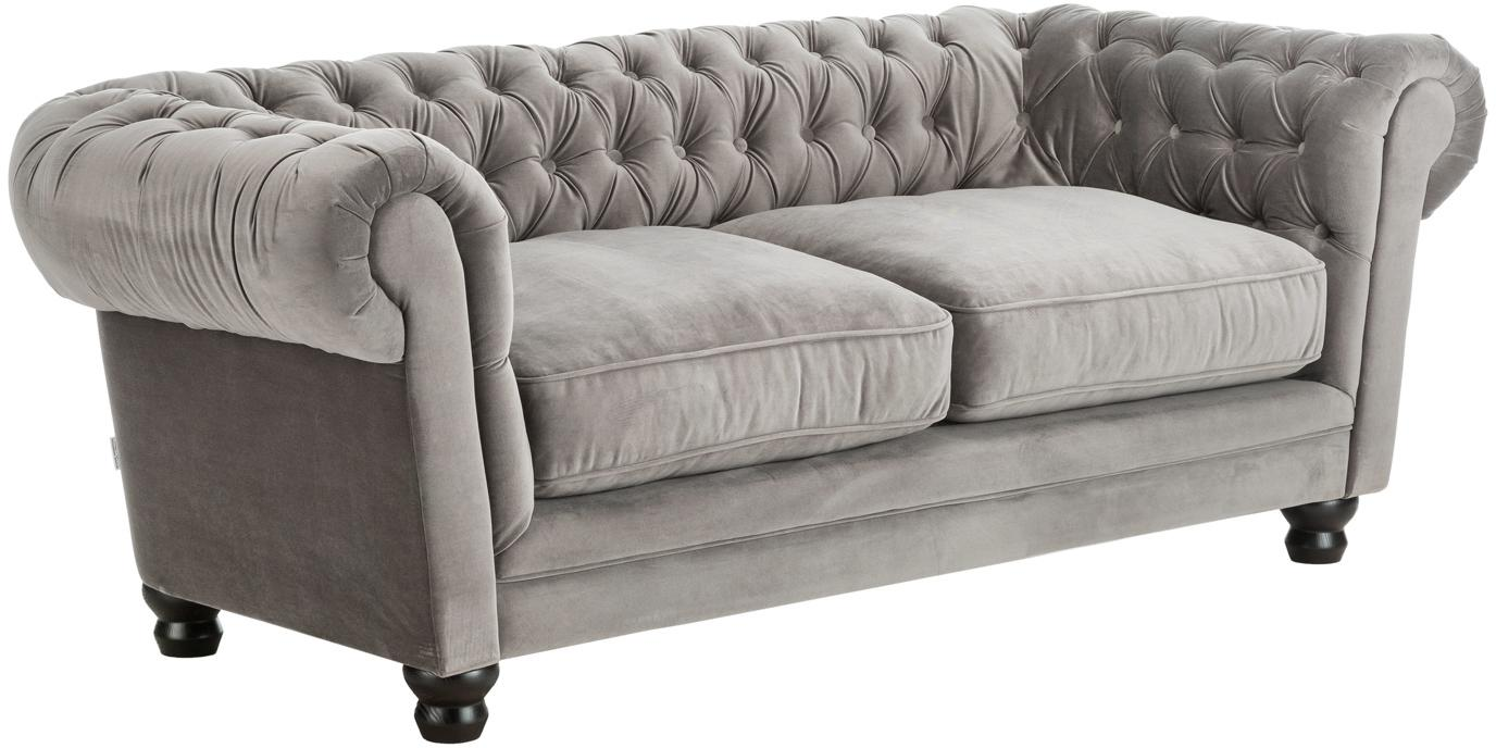 Samt Couch Chesterfield Samt-sofa Sally (3-sitzer) | Westwingnow