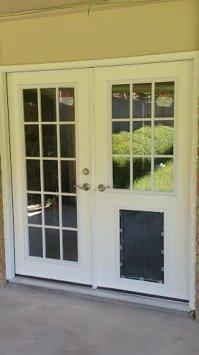 French Door  French Door With Doggie Door - Inspiring ...