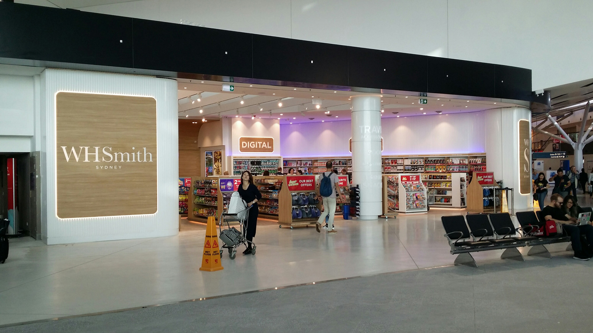 Sydney Airport Shops Cassign Wh Smith Sydney Airport
