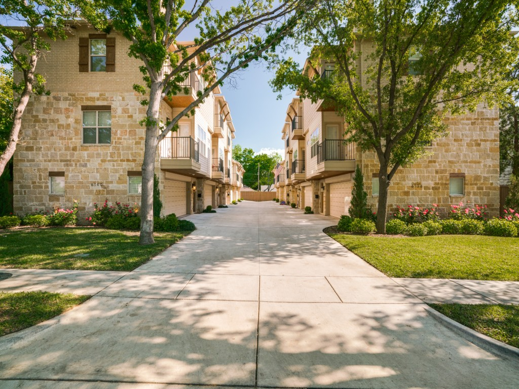 Garage Apartment Lakewood Dallas The Rowe Dallas Tx Townhomes
