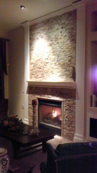 Split Face Stone Fireplace | Joy Studio Design Gallery ...