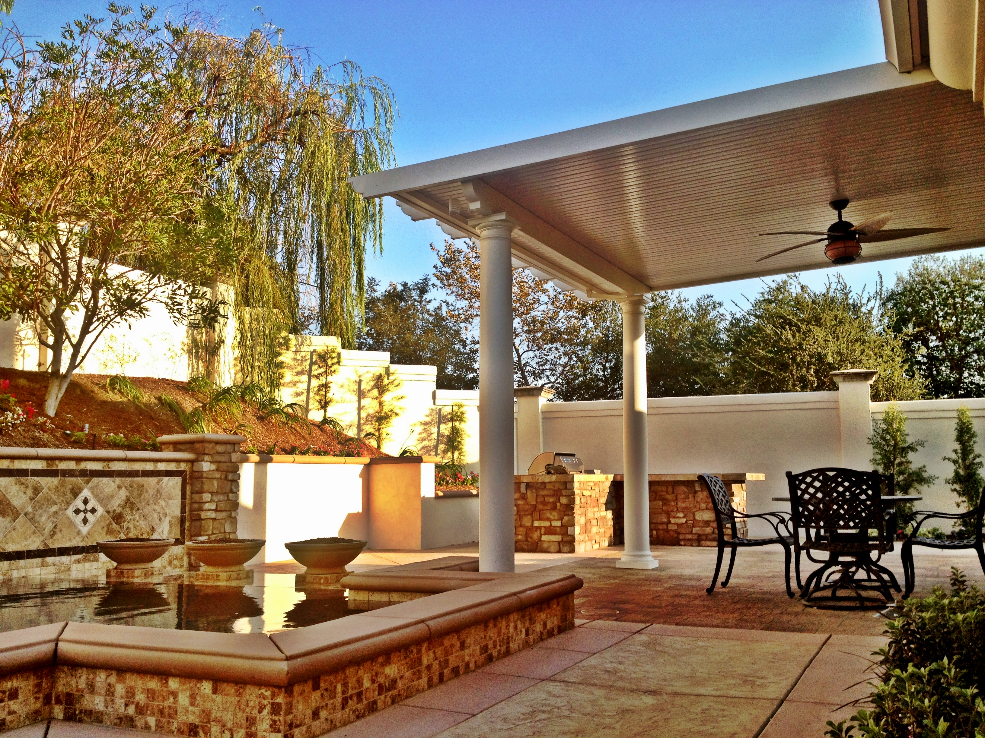 ... Types Of Patio Covers Insulated Patio Roof Panels Types Of Patio Covers  Lattice Patio Cover Solid ...