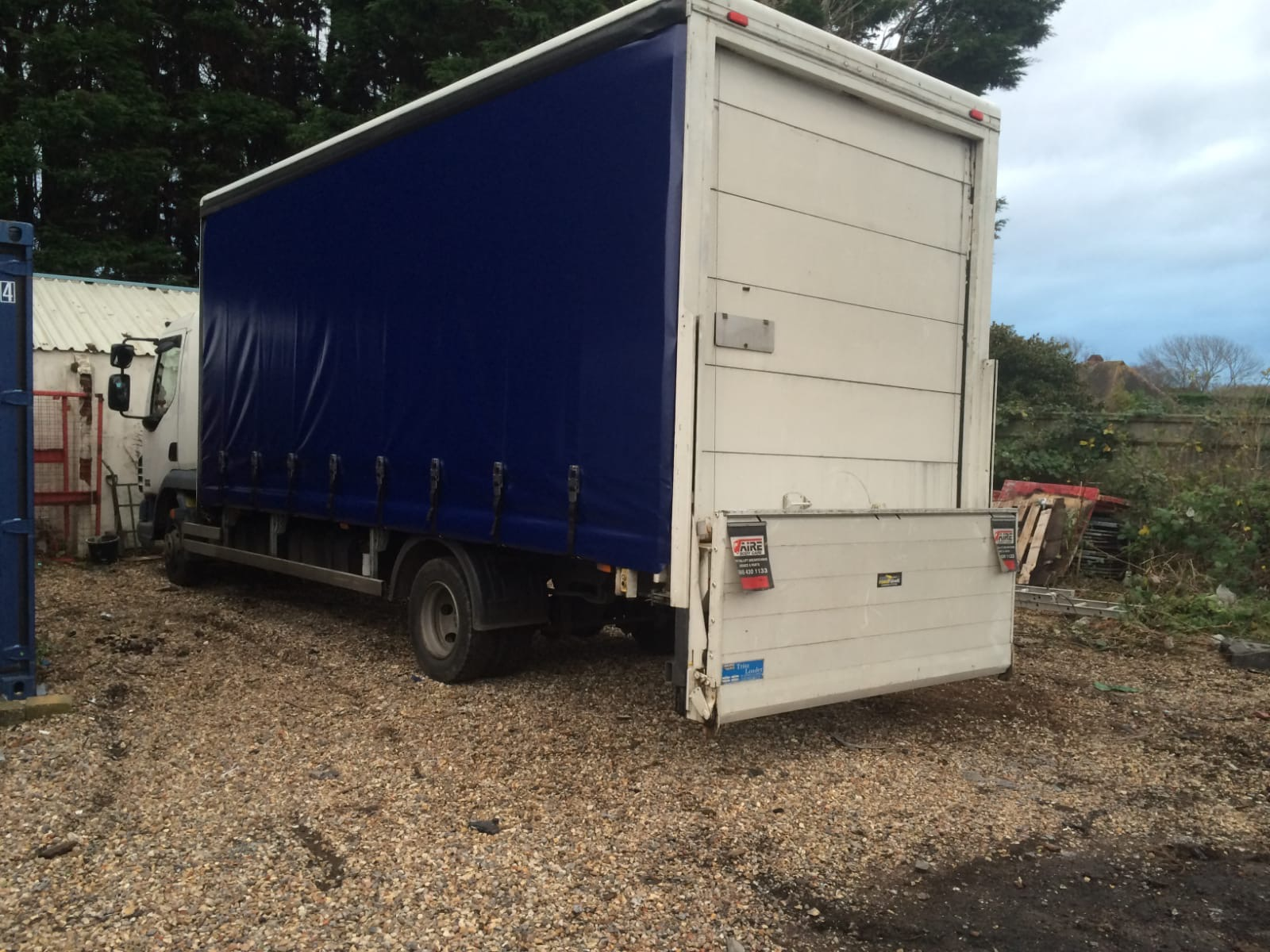 Trailer Curtains Cd Tarpaulins Gallery Lorry Curtains And Trailer Covers