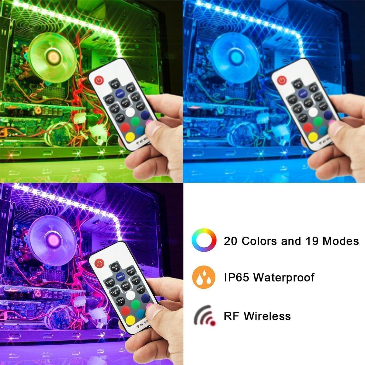Led Light Strips Rgb Rgb Led Light Strips