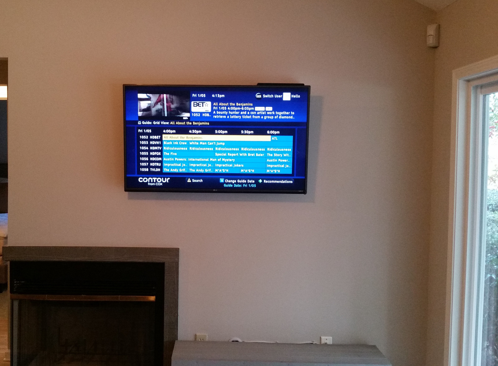 Wood Wall Behind Tv Ctech Llc Destin Fl Gallery Of Custom Installs