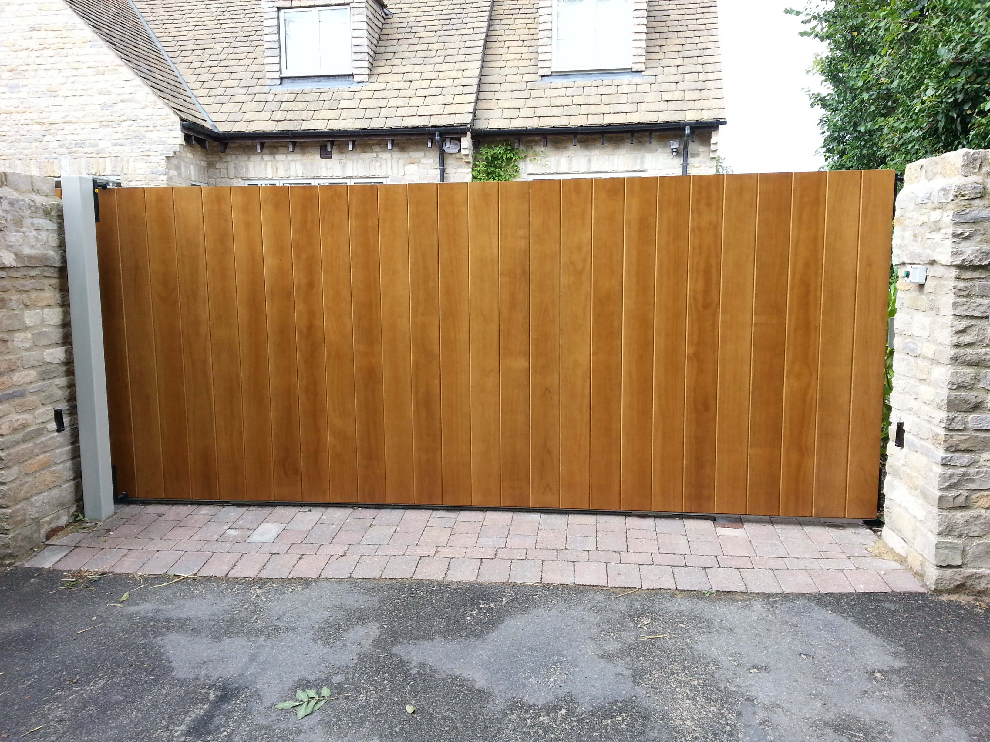 Sliding Gate For Garage Boyson Doors Instalation Gallery
