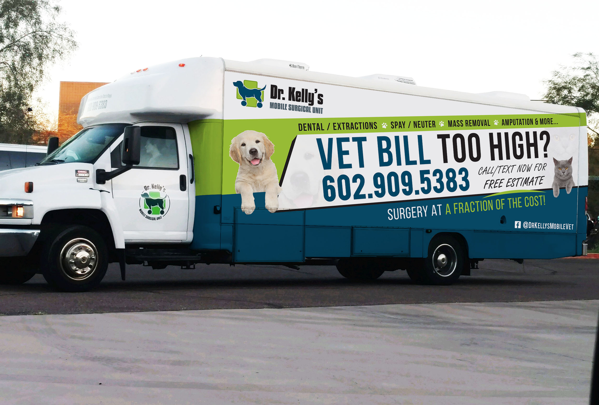 Mobile Vet Near Me Affordable Pet Surgery Phoenix Dr Kelly S Mobile Surgical Unit
