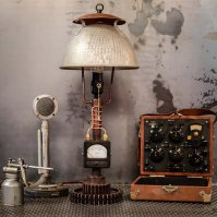Steampunk lighting, steampunk furniture