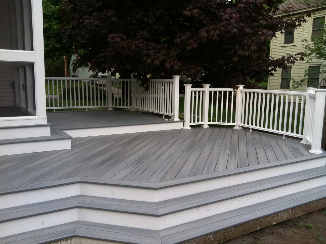 Synthetic Deck Boards 4 Things A Composite Deck Will And Will Not Do General