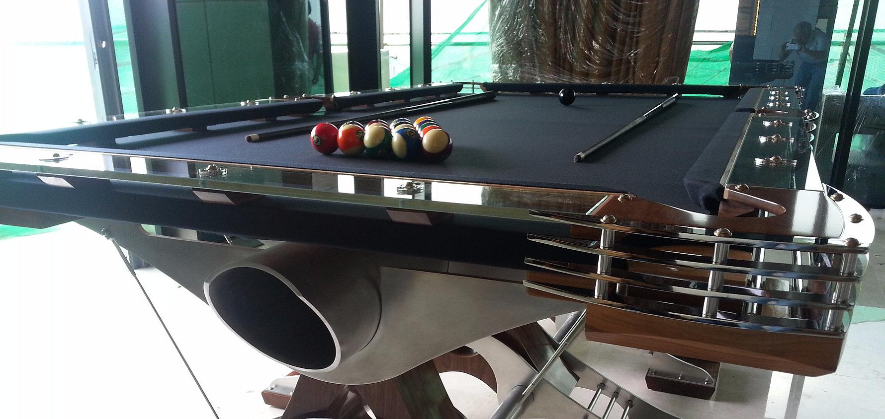 Hurricane billiards cool unique and modern custom pool