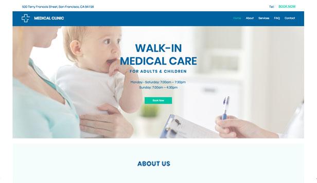 Health Website Templates Health  Wellness Wix