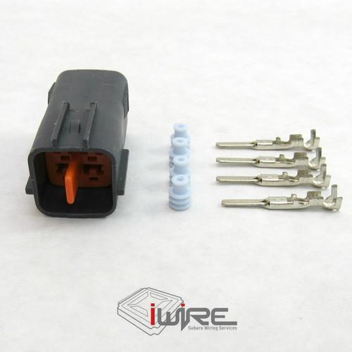 Subaru 4 Pin Replacement Plugs Electrical Connectors and Sensors