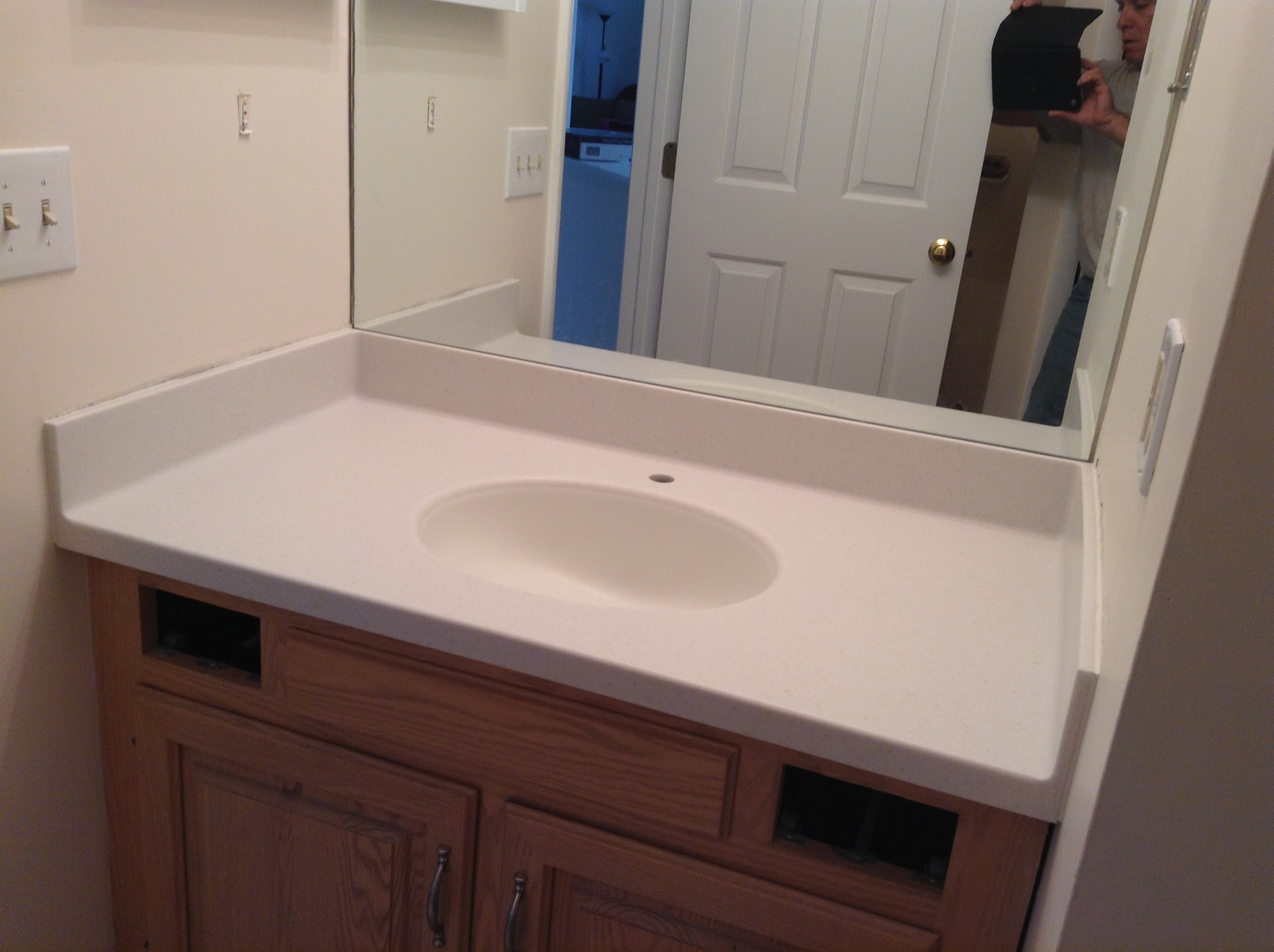 Colors Of Corian Countertops Before Corian And After Corian Countertops By Starian