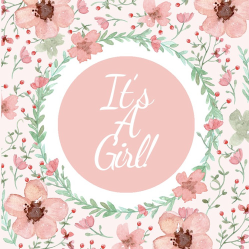 It\u0027s A Girl Greeting Cards