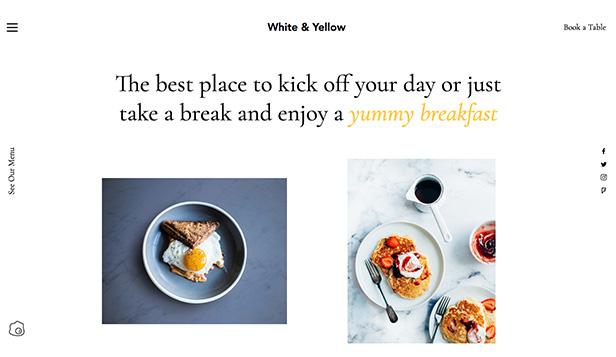 Restaurants  Food Website Templates Wix