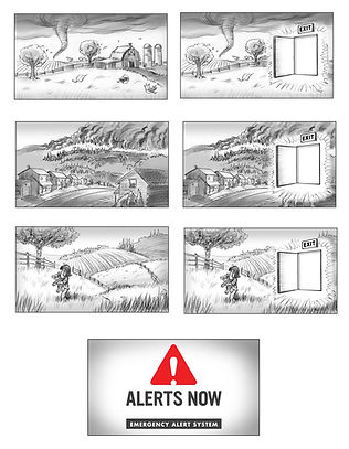 illustration Story - commercial storyboards