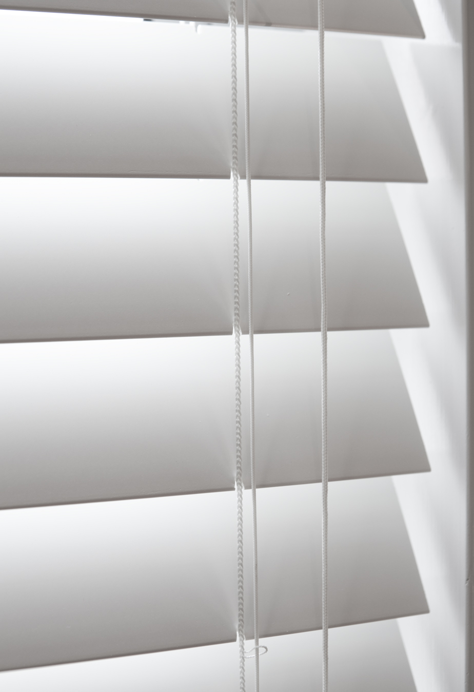 White Timber Blinds Venetian Blinds