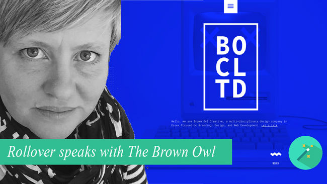 A WORD WITH THE BROWN OWL
