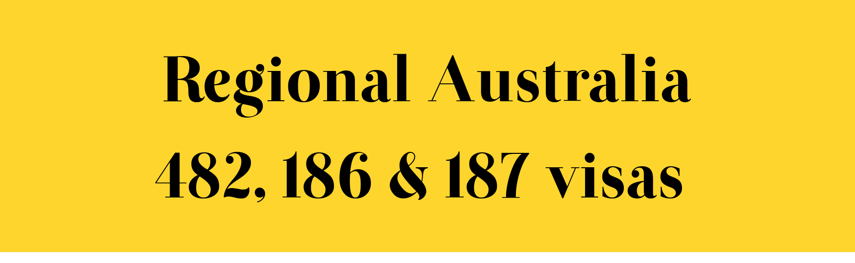 Regional Australia Regional Australia For Subclasses 482 186 And 187 Visas Smart